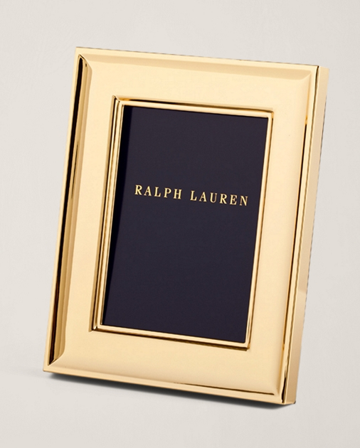 Cove Gold Plated Frame Frames Desk Accessories Home Ralph Lauren