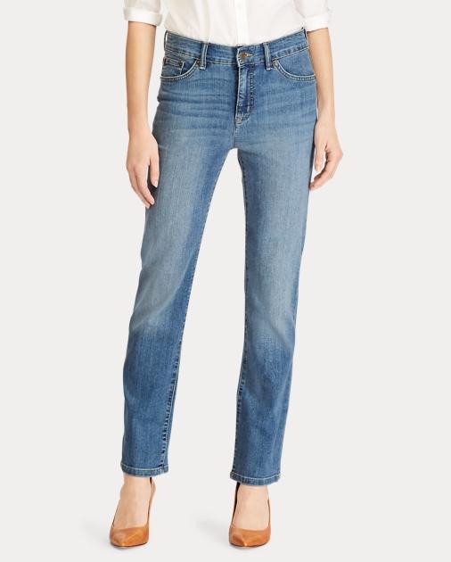 1b792be3077 Lauren Petite Premier Straight Jean 3