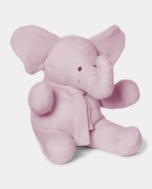 Large Cashmere Elephant Stuffed Animals Plush Toys Accessories