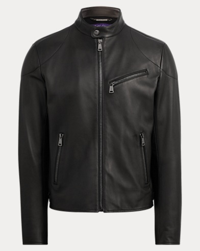 Randall Lambskin Biker Jacket