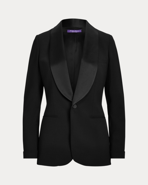 Sawyer Wool Tuxedo Jacket by Ralph Lauren
