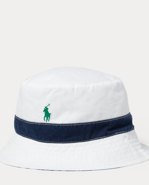 93f26200687e3 Polo Ralph Lauren Reversible Bucket Hat 1