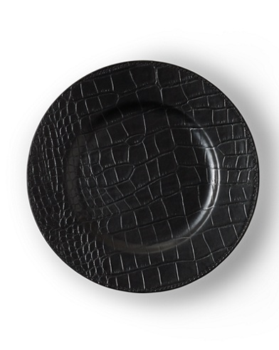 Rollins Leather Charger Plate
