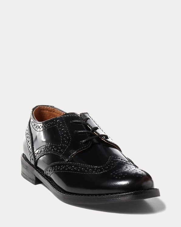 Oxford-Fullbrogue aus Leder