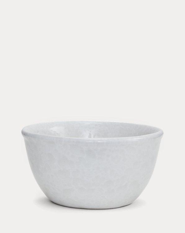 Weiße Suppenschüssel Bennington