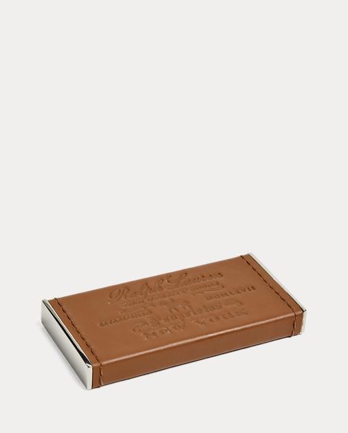 Ralph Lauren - Décapsuleur en cuir Cantwell - 1