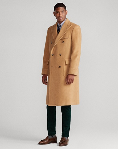 Polo Camel Hair Coat