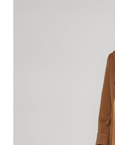 Polo Camel Hair Coat