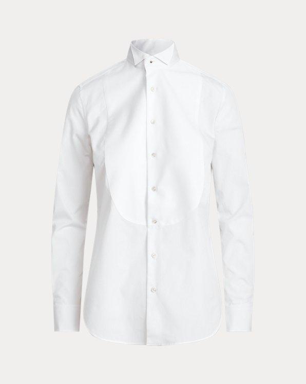 Cotton Broadcloth Tuxedo Shirt