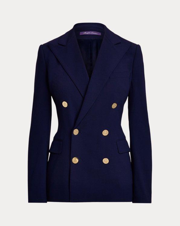 Camden Wool Crepe Jacket