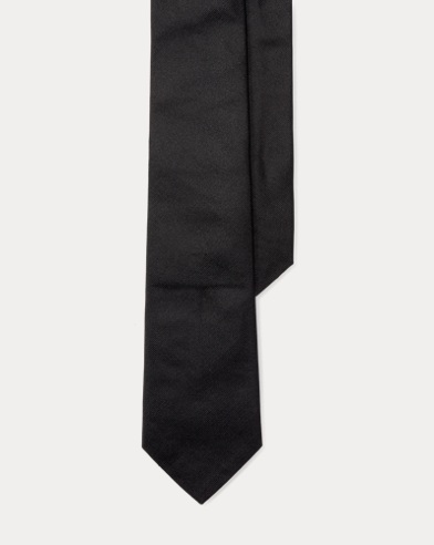 Silk Repp Narrow Tie