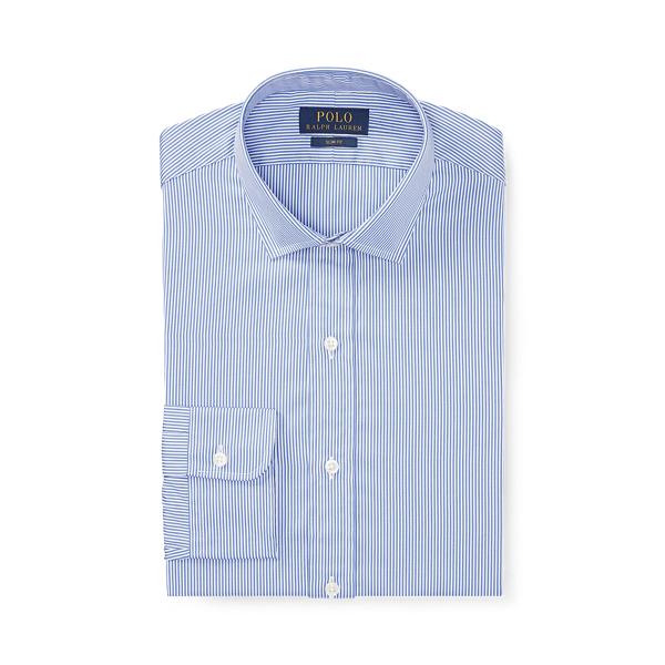 폴로 랄프로렌 셔츠 (슬림핏) Polo Ralph Lauren Slim Fit Striped Shirt,Blue/White