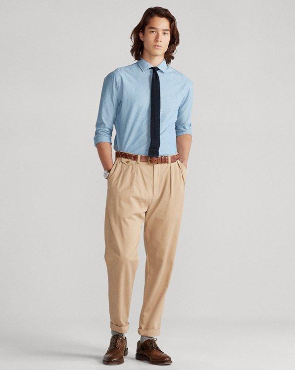 Slim Fit Chambray Shirt