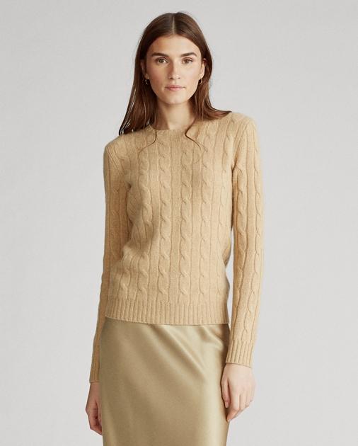 95b404cc1a0d Polo Ralph Lauren Cable-Knit Cashmere Sweater 1