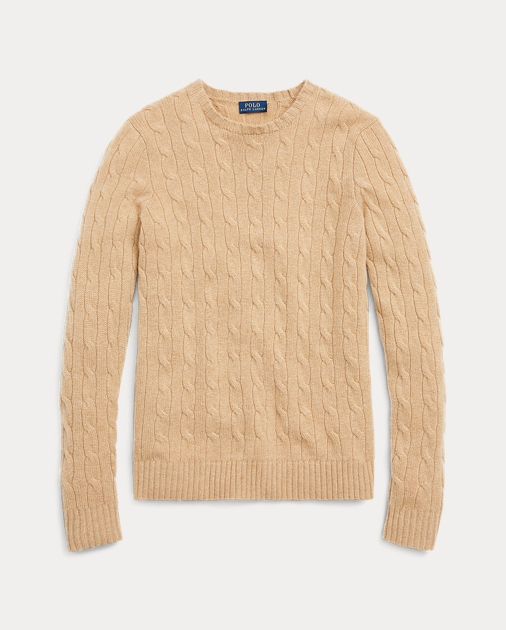 f338d9677 Polo Ralph Lauren Cable-Knit Cashmere Sweater 2