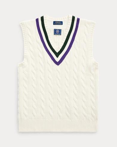 Wimbledon Cotton Vest