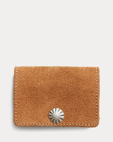 Roughout Leather Coin Wallet