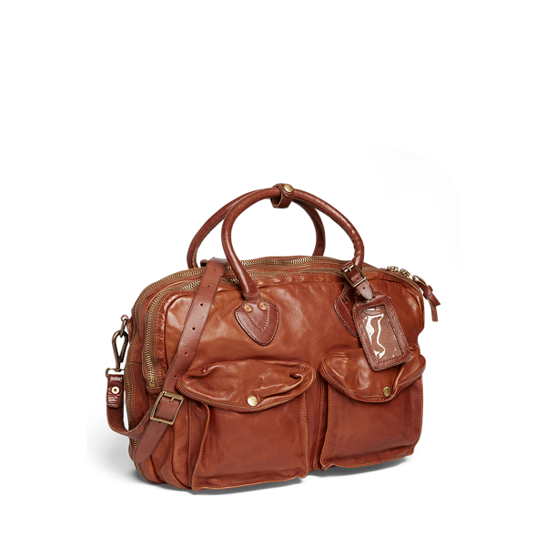 Leather Cargo Bag