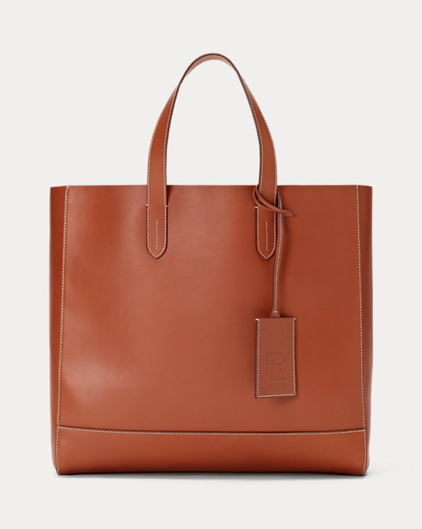 Borsa tote in vitello