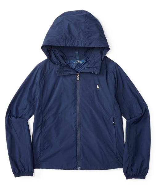 2a83e84cb1 Shirred Windbreaker