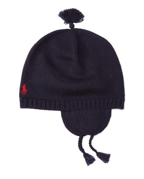 5d50e6f40c3 Baby Boy Merino Wool Earflap Hat 1