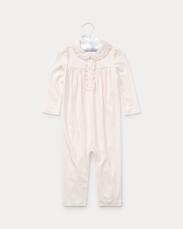 Cotton Polo Coverall