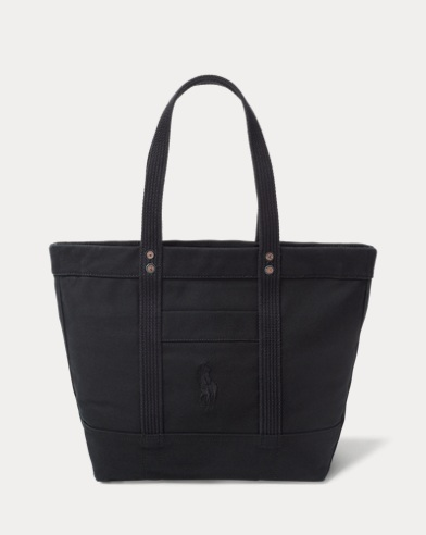 01f548bce7 Canvas Big Pony Tote. Polo Ralph Lauren