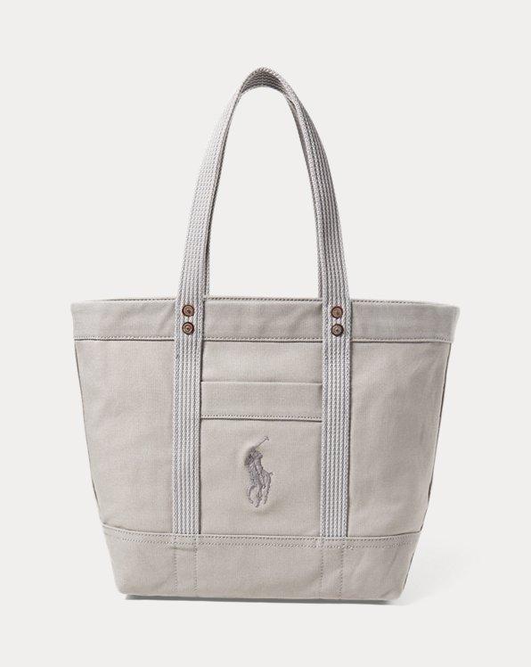 Segeltuchtragetasche mit Big Pony