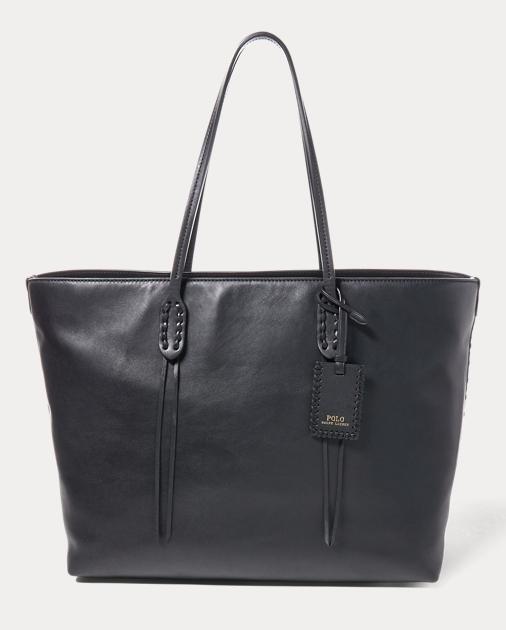 5a2808e21a Polo Ralph Lauren Leather Tote 1