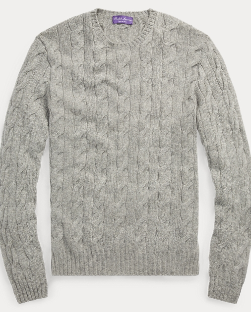 f8225a795efb Purple Label Cable-knitted Cashmere Jumper 2