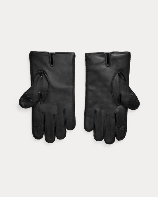 3e24006ef Leather Touch Screen Gloves | Gloves Hats, Scarves & Gloves | Ralph ...
