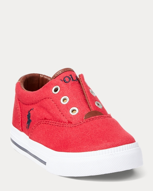 6284c7cc94d392 Vito Laceless Canvas Sneaker   40% Off  Select Shoes BABY   Ralph Lauren