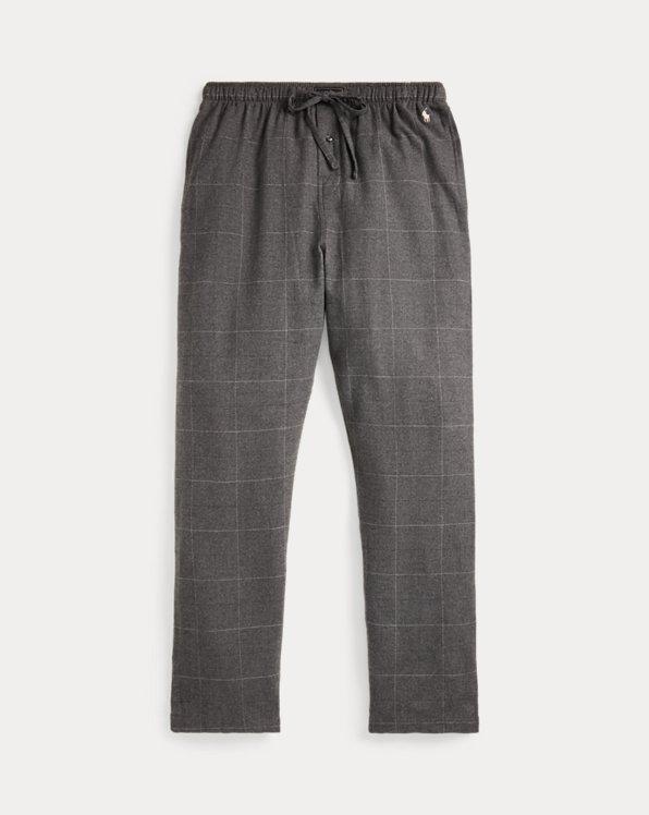 Windowpane Flannel Sleep Pants