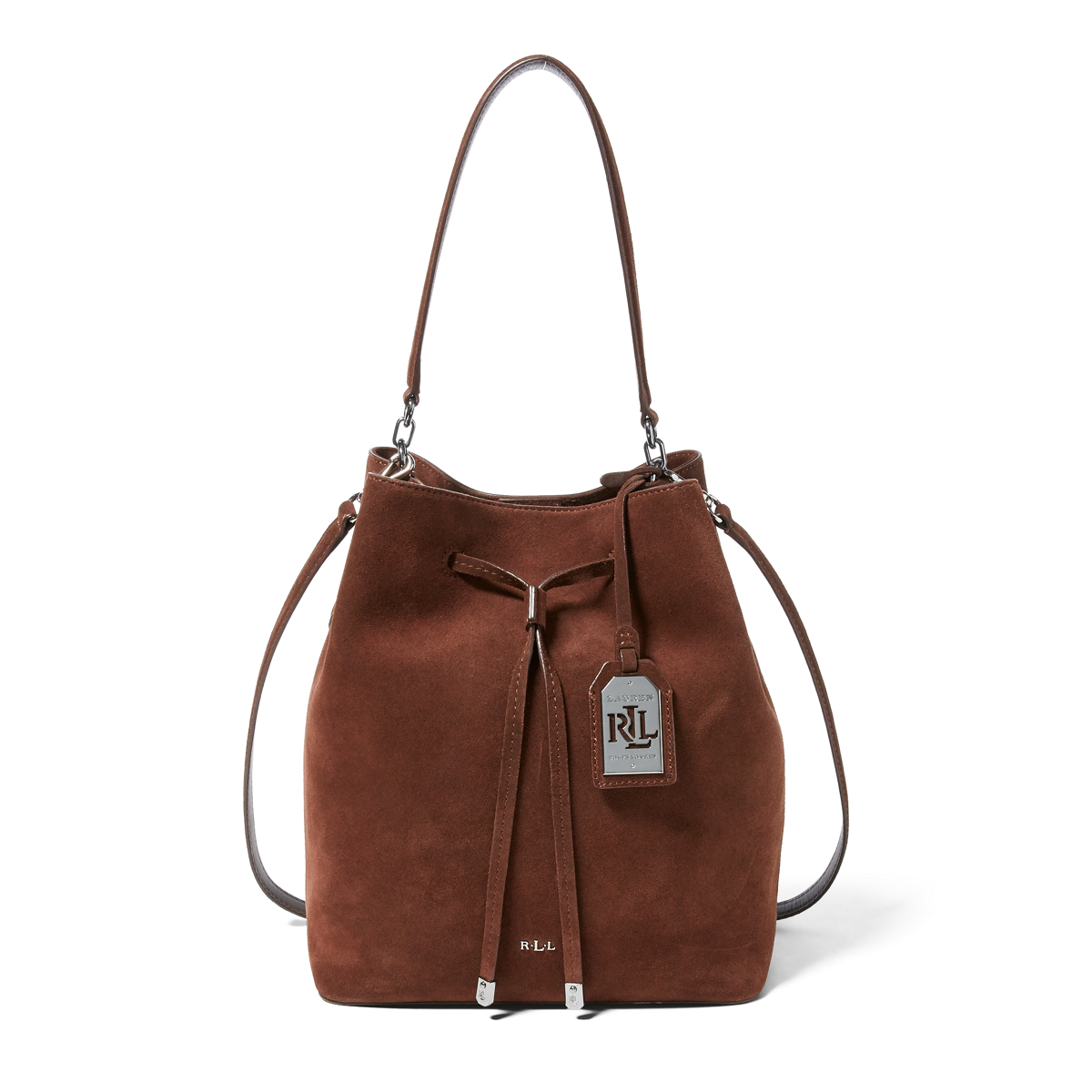 a31ba10d0d Suede Debby Drawstring Tote
