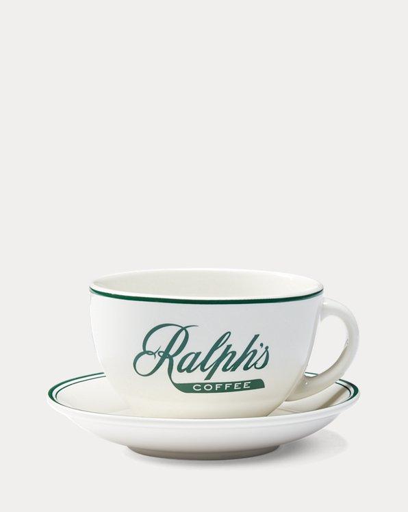 Tazza con piattino Ralph's Coffee