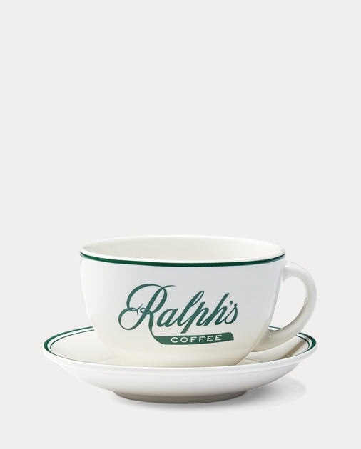 Ralph's Coffee Cup & Saucer