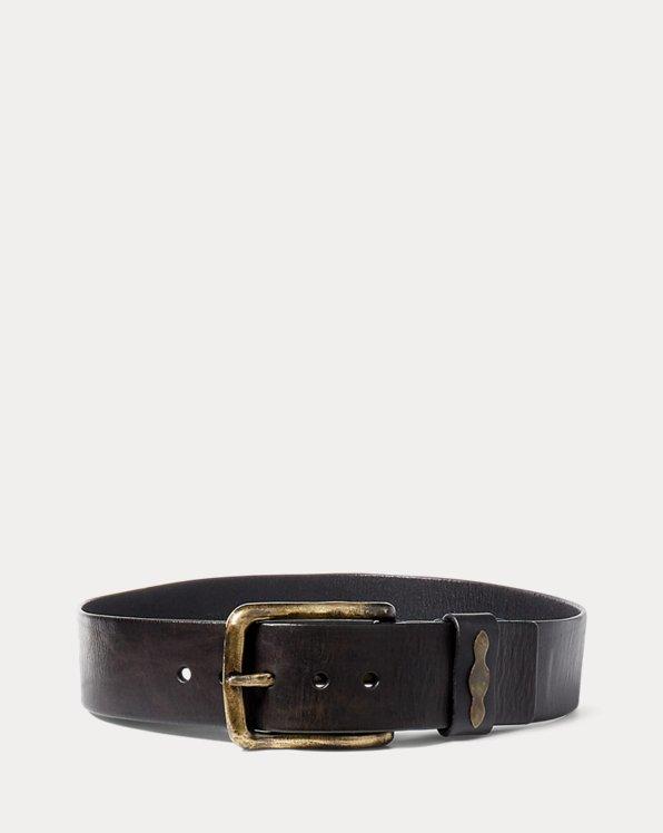 Single-Prong Leather Belt