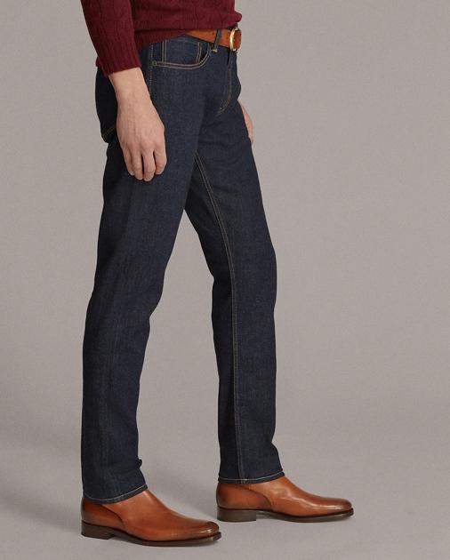 Purple Label Slim-Fit Selvedge-Jeans mit Stretch 3