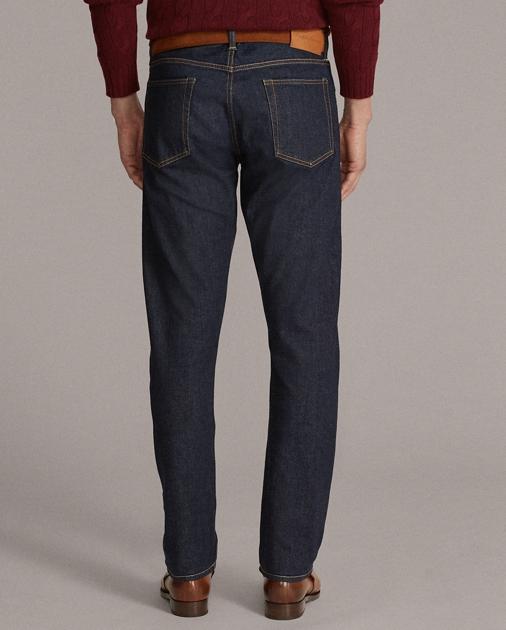 Purple Label Slim-Fit Selvedge-Jeans mit Stretch 4