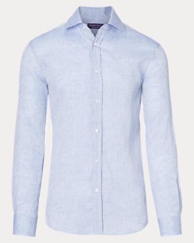 Heathered Linen Shirt