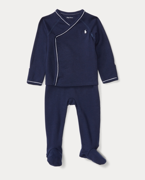 2690e681 Cotton Kimono Top & Pant Set   Outfits & Gift Sets Baby ...