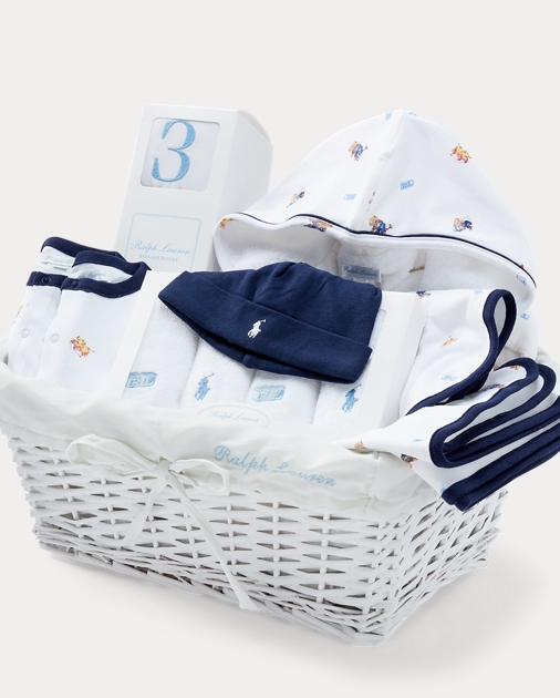 4c2aae5698 Polo Bear 11-Piece Gift Basket   Outfits & Gift Sets Baby   Ralph Lauren