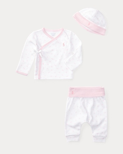Cotton Kimono 3-Piece Gift Set
