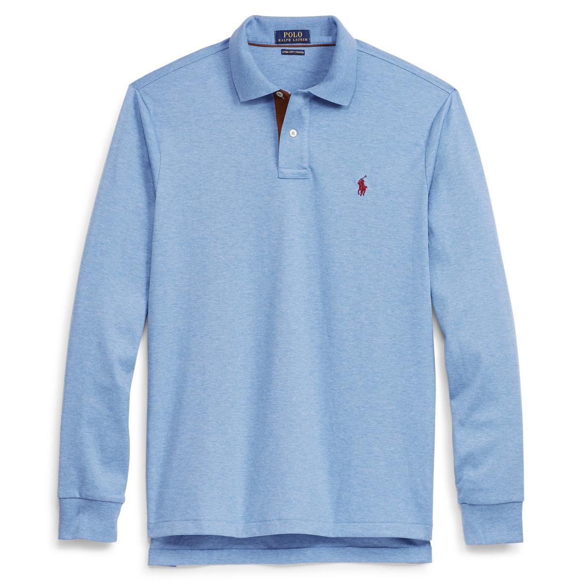 7360432fe Custom Fit Long-Sleeve Polo