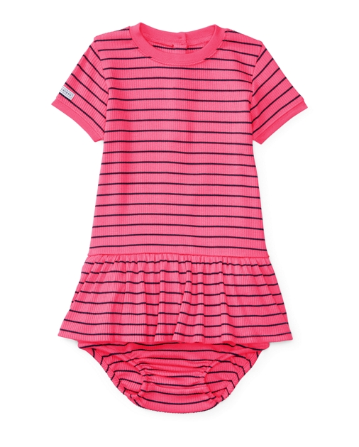 4b20c58bf00d Striped Knit Dress & Bloomer | Dresses BABY GIRL (0-24 months) | Ralph  Lauren