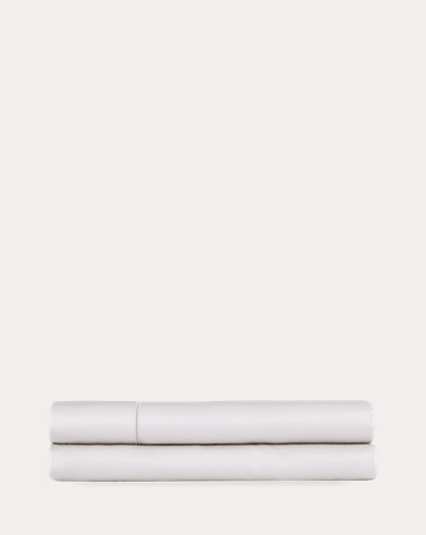 RL 624 White Fitted Sheet