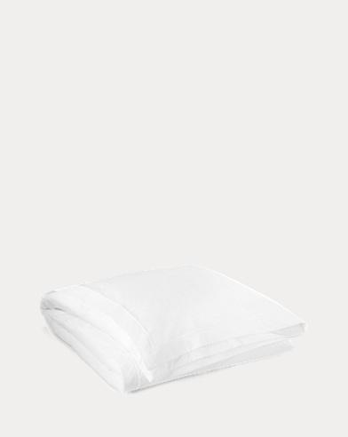 White Palmer Duvet Cover
