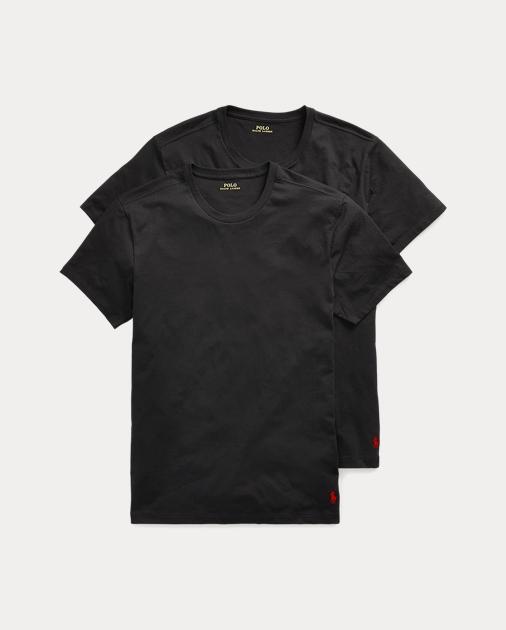 41848e99fc Polo Ralph Lauren Crewneck T-Shirt 2-Pack 1