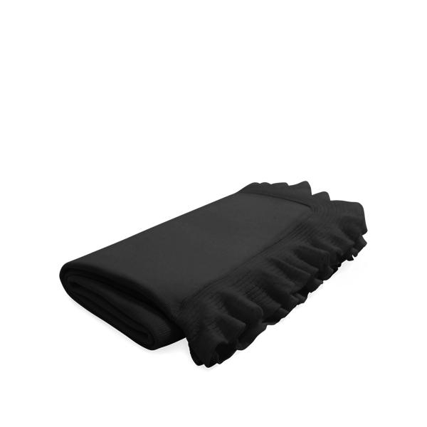 Ralph Lauren Whitney Cashmere Throw Blanket Black 60
