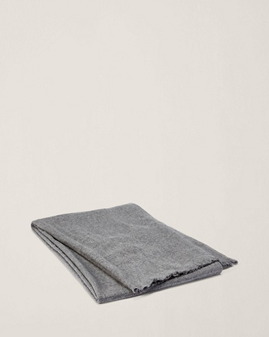 Everett Cashmere Throw Blanket